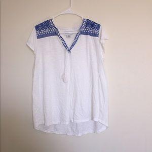 Boho style shirt